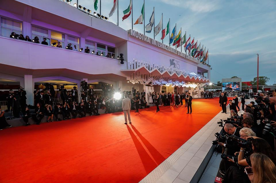 Biennale 2018 red carpet